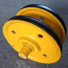 起重机铸钢铸铁滑轮组 / 起重机  造船  滑轮