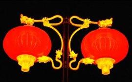 LED塑胶红灯笼
