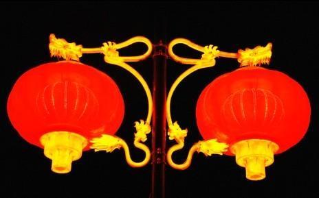 LED塑膠紅燈籠
