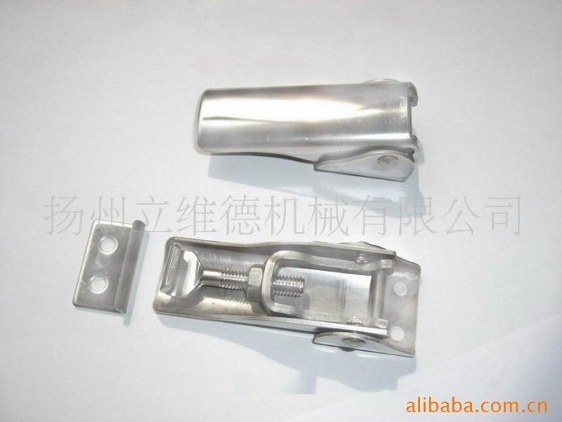 厂家供应QF-008倒翻螺杆调节搭扣 快开调节不锈钢搭扣