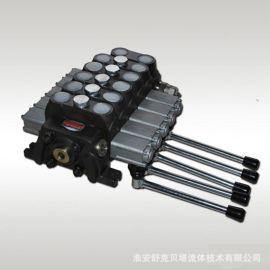 DCV100-5OT支架倒裝,手動多路閥