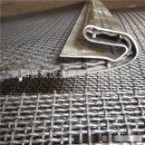 廠家定做養殖鋼絲網 養豬軋花網 錳鋼軋花網