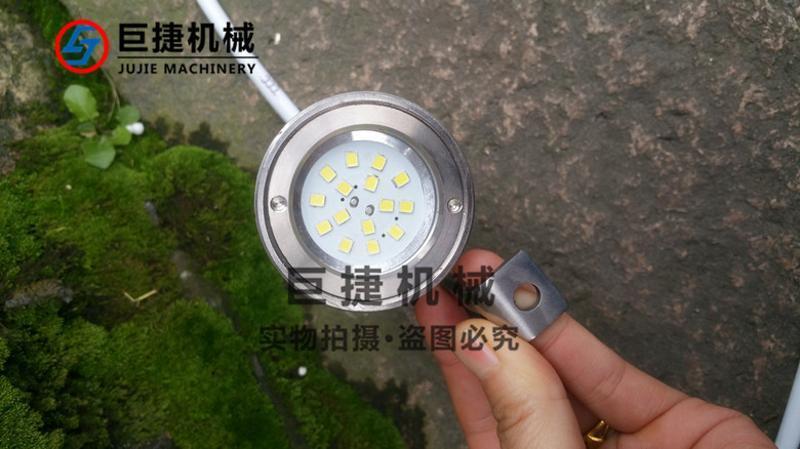 非防爆性射灯 不锈钢LED射灯 304法兰视镜专用视镜灯不锈钢射灯