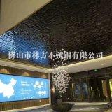 廠價直銷黑鈦鏡面不鏽鋼壓花板 會議廳/咖啡廳/KTV裝飾專用黑鏡鋼水波紋不鏽鋼板