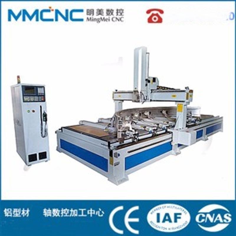 明美MM-1550-CNC铝合金数控加工中心 汽车电池托盘数控加工设备 旋转门数控加工中心 铝单板数控加工设备
