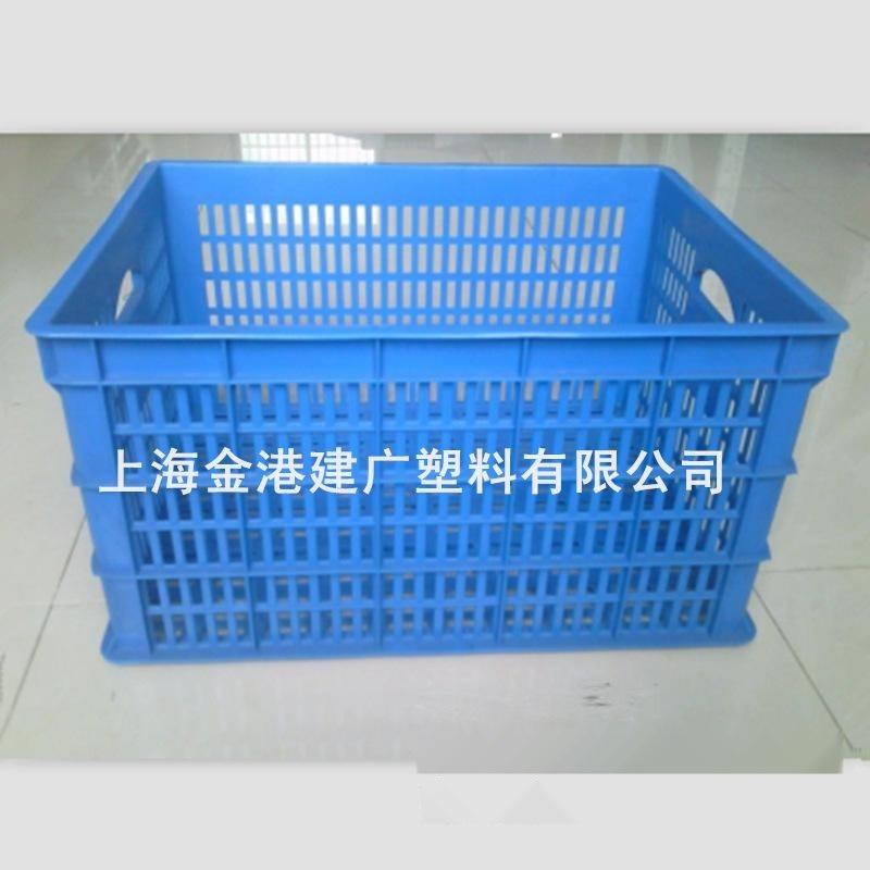 厂家直销 500*380*290 塑胶周转筐  塑料周转箱  服装转用筐