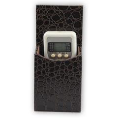 酒店皮具遥控架,家居皮革手机收纳盒,创意时尚桌面收纳盒餐厅KTV电视遥控器座
