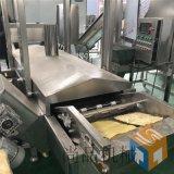 全自动豆皮油炸机生产线 豆皮油炸线生产厂家