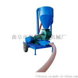 大**柴油动力输送机 四轮驱动式软管吸料机qc