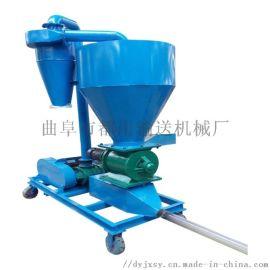 柴油机动力粉料输送机 粮食装车气力吸粮机qc