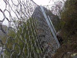 山西大同 镀锌钢丝绳网 柔性边坡防护网 公路边坡网
