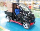 山東電動平板貨車 電動微卡小型電動送餐車 超市送貨車