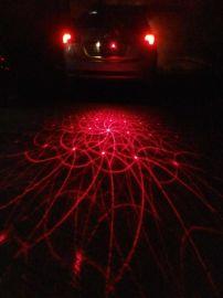 汽车激光雾灯 防追尾灯 投影激光尾灯 改装灯