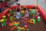 决明子充气沙滩池/充气水池/摸底鱼池/儿童水上乐园夏季中的最爱