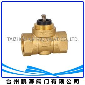 电热阀 二通/两通 电热执行器配用截止阀 弹簧复位 热电阀