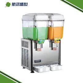 双头果汁现调机|咖啡店双缸果汁机|喷淋式三缸果汁机|速溶果粉现调机