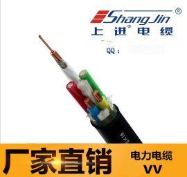 上海永进电缆VV22-5X25钢带铠装电力电缆铜芯PVC绝缘护套电缆