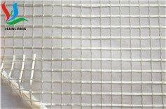 翰隆PVC透明夹网布 文件袋 透明PVC夹网布