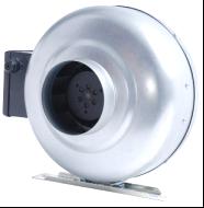 供应圆形管道风机抽风机强力排气换气扇离心风机静音Φ100~Φ315