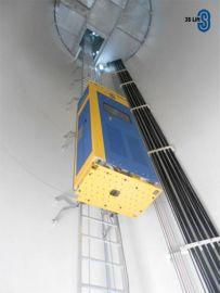 3S Lift 钢丝绳导向/爬梯导向/齿轮齿条高空作业升降设备,风电塔筒升降机
