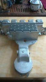锌铝合金压铸铝合金汽车发动机水泵铝铸件、铝合金 精密潜水器外壳 压铸