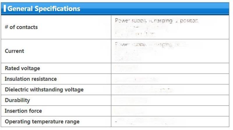 苏州汇成元供JAE KW03GY10PDL0500E 原厂车用连接器