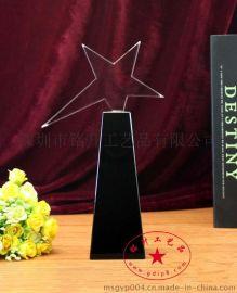 年终水晶奖杯  公司摆件水晶  水晶工艺品
