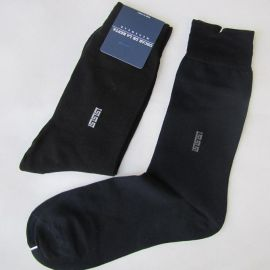 丝光棉男袜 提花商务袜 正装男袜 纯棉袜子