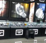 钟表展示柜货架定做烤漆家具生产厂家