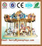 广州金米奇供应大型旋转木马 豪华转马 儿童游乐场设备 JMQ-P176B