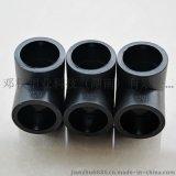 專業生產PE給水管配件90度彎頭黑色規格齊全PE給水管配件等徑彎頭
