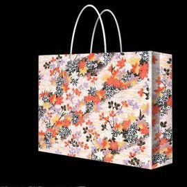 厂家定制创意手提袋印刷 白卡纸服装手提袋 包装购物袋设计印刷