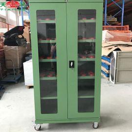 昆山天金冈定制数控加工中心HSK-60刀具柜 双开门刀具管理柜