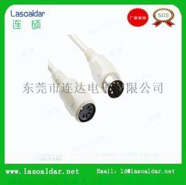 专业生产DIN类连接线 大DIN线 MINI DIN线 S端子线 信号传输线 电动推杆线