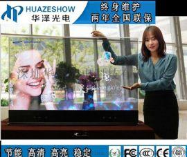 LED透明屏P3.9-7商场玻璃墙大型高透电子屏