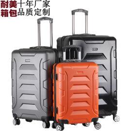 abs拉杆箱三件套萬向輪旅行箱密碼鎖行李箱定制