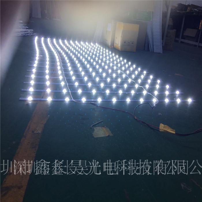 专业生产LED卷帘灯 3030漫反射灯条 3030透镜背光源
