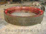 徐州法蘭式整體結構乾燥機大齒圈130齒14模數大齒輪