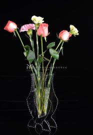 透明花瓶 亚克力花瓶 鱼缸 花瓶