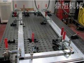 新型多功能焊接平台三维柔性焊接工装三维焊接平台3D焊接工装夹具鼎旭机床