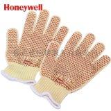 霍尼韋爾Honeywell 凱夫拉防割丁腈點塑耐磨經濟款手套 52-6647