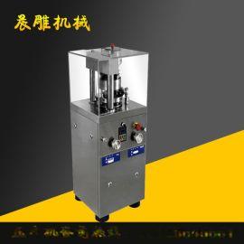 5冲小型旋转式压片机报价 不锈钢制药压片机
