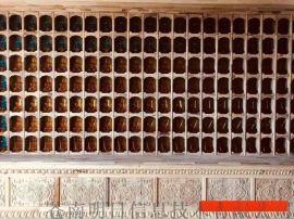 木雕佛龛佛格红木雕刻神龛千佛墙