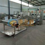 V香酥鸡爪油炸机 自动控制鸡爪油炸设备 油炸生产线