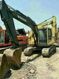 二手沃爾沃140挖機,機身性能好,耐久性好,效率高
