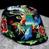 繡花鴨舌帽