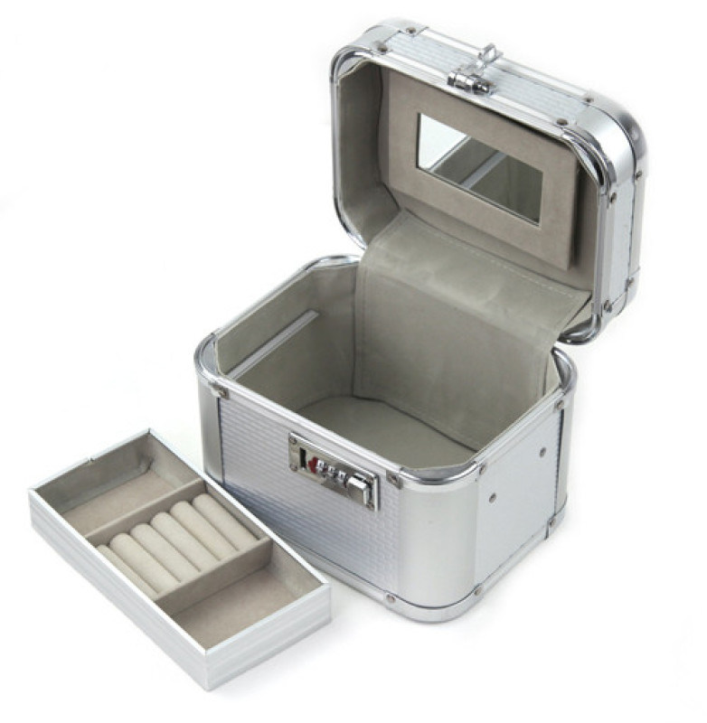 手提铝合金工具箱 家用医疗工具箱