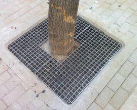 玻璃钢环保格栅树池盖板现货直销