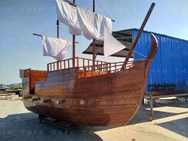 景观装饰道具 儿童游乐设施海盗船