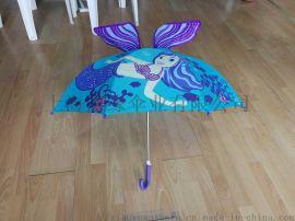防夹手儿童伞、儿童伞立体、创意造型儿童伞定制